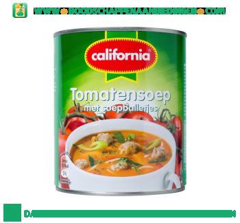 California Tomatensoep aanbieding