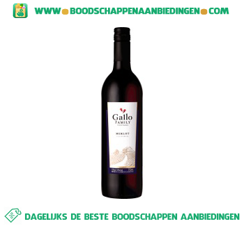 Californië Gallo Family Vineyards merlot aanbieding