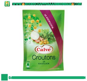 Calvé Croutons ui knoflook aanbieding