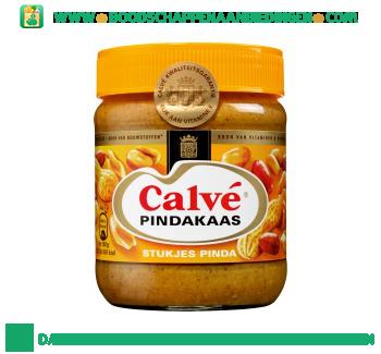 Calvé Pindakaas met stukjes pinda aanbieding