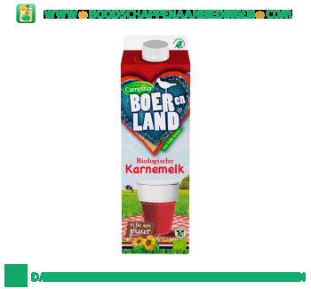 Campina Boer en Land biologische karnemelk aanbieding