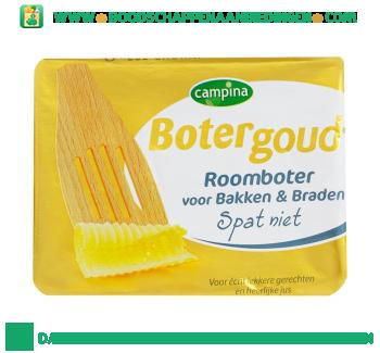 Campina Botergoud roomboter voor bakken & braden aanbieding
