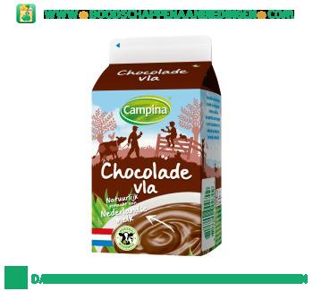 Campina Chocolade vla aanbieding