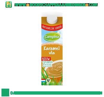 Campina Karamel vla aanbieding
