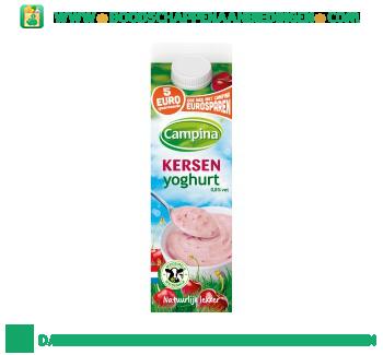 Campina Kersen yoghurt aanbieding