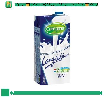 Campina Lang lekker volle melk aanbieding