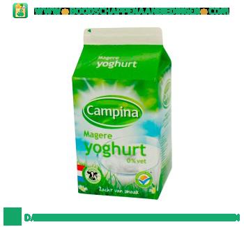 Campina Magere yoghurt aanbieding