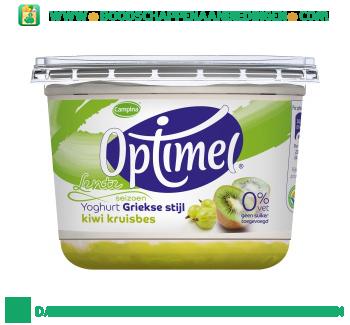 Campina Optimel Griekse yoghurt honing aanbieding