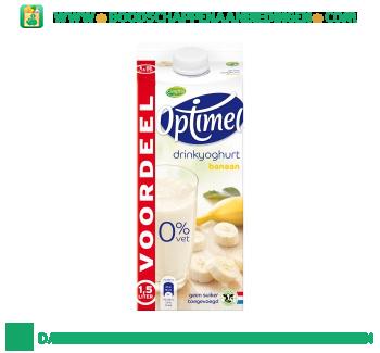 Campina Optimel drinkyoghurt banaan aanbieding