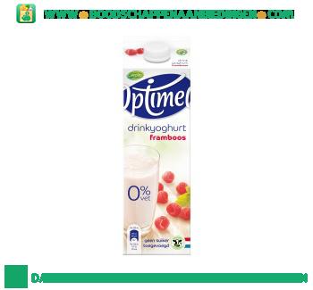 Campina Optimel drinkyoghurt framboos aanbieding