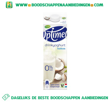 Campina Optimel drinkyoghurt kokos aanbieding