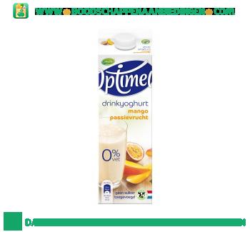 Campina Optimel drinkyoghurt mango passievrucht aanbieding