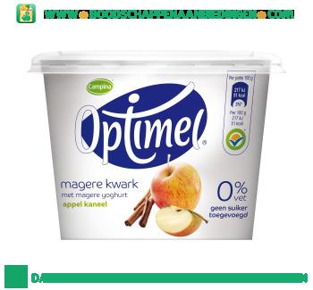 Campina Optimel kwark appel kaneel aanbieding