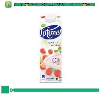 Campina Optimel yoghurt aardbei aanbieding