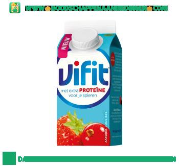 Campina Vifit proteine bes aardbei aanbieding