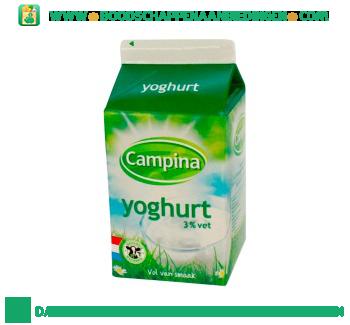 Campina Volle yoghurt aanbieding