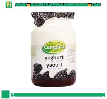 Campina Yoghurt op fruit braam aanbieding
