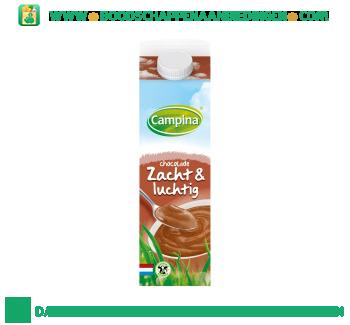 Campina Zacht & luchtig chocolade aanbieding