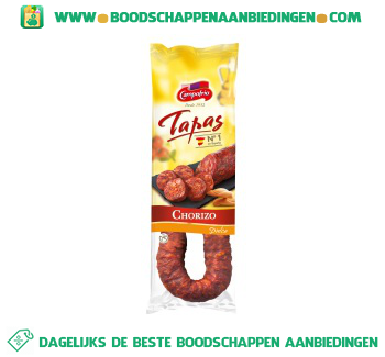 Campofrio Chorizo dulce aanbieding