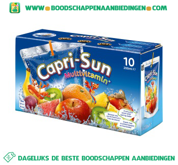 Capri Sun Multivitamin 10-pak aanbieding