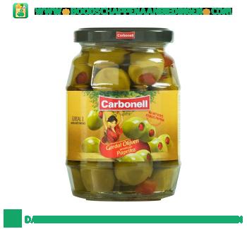Carbonell Gordal olijven paprika aanbieding