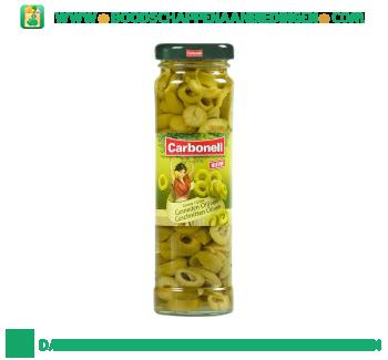 Carbonell Groene olijven gesneden aanbieding