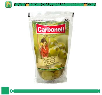 Carbonell Groene olijven zonder pit aanbieding
