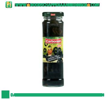 Carbonell Zwarte gesneden olijven aanbieding