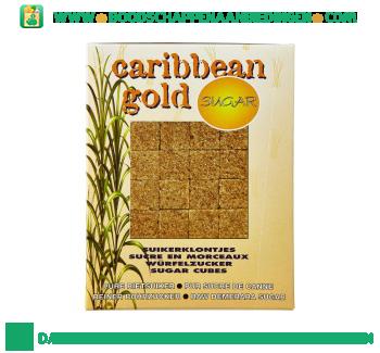 Caribbean Gold Ruwe rietsuikerklontjes aanbieding