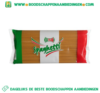 Spaghetti aanbieding