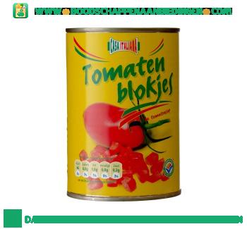 Tomatenblokjes aanbieding