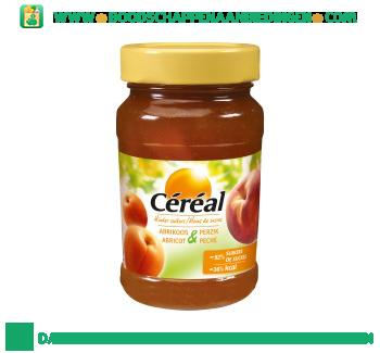 Céréal Duo fruit abrikoos perzik aanbieding