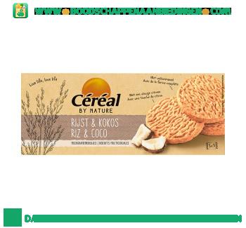 Céréal Meergranen koekjes rijst kokos aanbieding