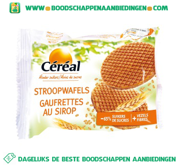Céréal Stroopwafels aanbieding