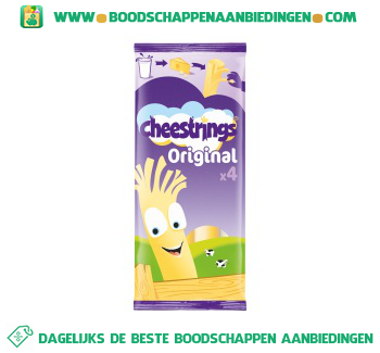 Cheestrings Naturel aanbieding