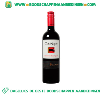 Chili Gato Negro cabernet sauvignon aanbieding