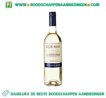 Chili Que Mas sauvignon blanc aanbieding