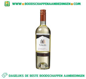 Chili Tunupa reserva sauvignon blanc aanbieding