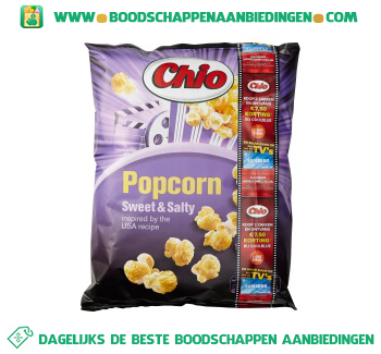 Chio Popcorn sweet/salty aanbieding