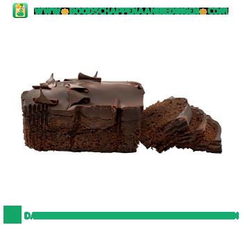 Chocolade cake aanbieding
