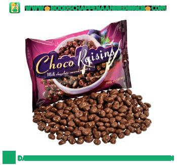 Chocolade rozijnen aanbieding