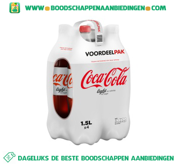 Coca-Cola Light 4-pak aanbieding