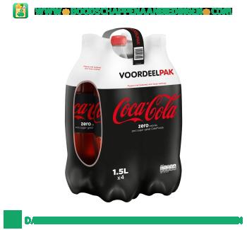 Coca-Cola Zero 4-pak aanbieding