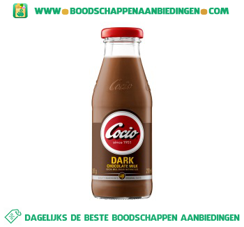 Cocio Chocolate milk dark aanbieding