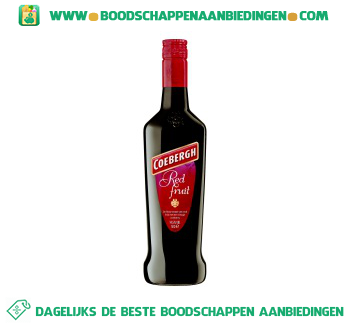 Coebergh Red fruit aanbieding