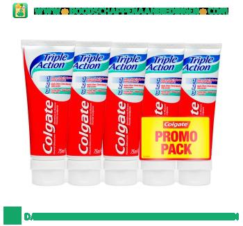 Colgate Triple action tandpasta promopack aanbieding