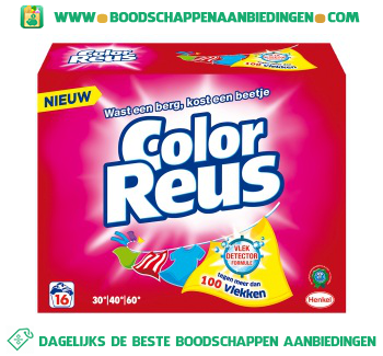 Color Reus Waspoeder aanbieding