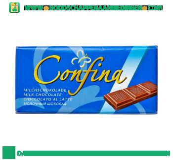 Confina Chocoladereep melk aanbieding