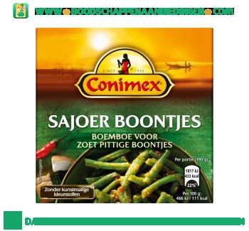 Conimex Boemboe Sajoer Boontjes aanbieding