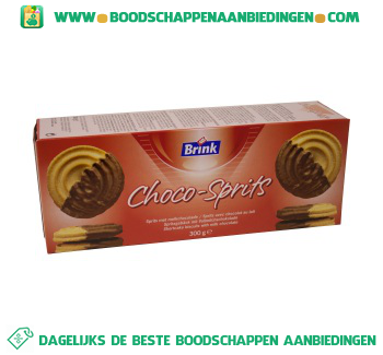 Continental Bakeries Chocosprits aanbieding